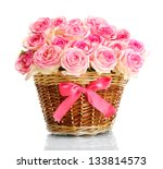 Beautiful Bouquet Of Pink Rose...