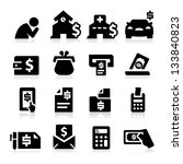 bills icons | Shutterstock .eps vector #133840823