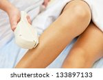laser hair removal on ladies... | Shutterstock . vector #133897133