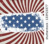 american patriotic background.... | Shutterstock .eps vector #133923377