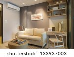 modern japanese style decorated ... | Shutterstock . vector #133937003