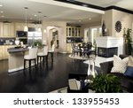 kitchen interior design | Shutterstock . vector #133955453