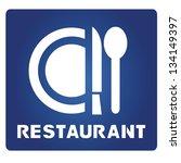restaurant | Shutterstock .eps vector #134149397