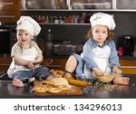 child the cook - stock photo