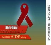 stop aids | Shutterstock . vector #134301587