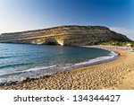 Welcome To Matala Beach At The...