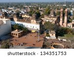 orchha  india   dec 20  old... | Shutterstock . vector #134351753
