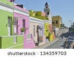 chiapinni street  bo kaap cape... | Shutterstock . vector #134359703