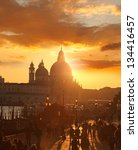 Venice With  Basilica Of Santa...