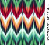 abstract modern ethnic seamless fabric pattern - stock photo