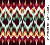 abstract modern ethnic seamless fashion fabric pattern - stock photo