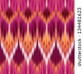 Abstract Coral Zigzag Seamless...