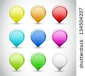 vector flower background | Shutterstock .eps vector #134504207
