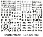 energy and resource icon set.... | Shutterstock .eps vector #134521703