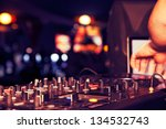 nightclub parties dj. sound... | Shutterstock . vector #134532743