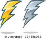 lightning bolt symbol | Shutterstock .eps vector #134556083