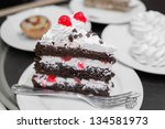 Piece Of A Black Forest Cake...