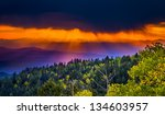 New Mexico Fall Mountain Sunse...
