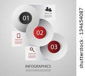 infographic design | Shutterstock .eps vector #134654087