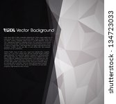 elegant design layout   eps10... | Shutterstock .eps vector #134723033