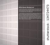 elegant white design template | Shutterstock .eps vector #134724473