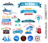set of labels  badges and... | Shutterstock . vector #134807777
