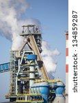 metallurgical factory   Shutterstock . vector #134859287