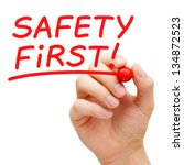 Hand Writing Safety First With...