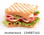 sandwich | Shutterstock . vector #134887163