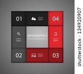 infographic design | Shutterstock .eps vector #134920907