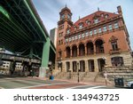 richmond virginia architecture- Main Street Station - Richmond VA - stock photo