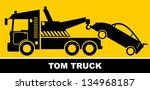 tow truck | Shutterstock .eps vector #134968187