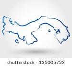 Panama Map Free Vector Art Free Downloads - Panama map vector
