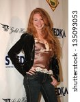 Small photo of HOLLYWOOD - SEPTEMBER 06: Shanna Rose wearing clothing by Tag+ Jeans and Gold Hawk at the Tag+ Jeans and Gold Hawk Fashion Party at Element on September 06, 2006 in Hollywood, CA.