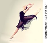 Beautiful Ballet Dancer  Moder...