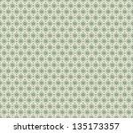 stylish vintage seamless... | Shutterstock .eps vector #135173357