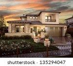 New Home House Exterior...