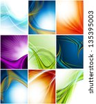 colorful modern vector... | Shutterstock .eps vector #135395003