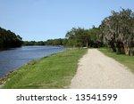 bayou petite anse in avery... | Shutterstock . vector #13541599