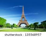 eiffel tower  paris. france.   Shutterstock . vector #135568957