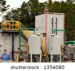 water treatment plant | Shutterstock . vector #1356080