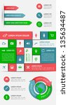 infographics and web elements....