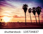 Venice Beach. Sunset. Summer...