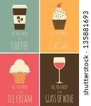 A Set Of Colorful Posters With...
