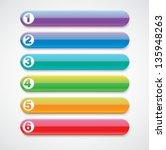 vector progress banners | Shutterstock .eps vector #135948263