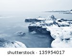 The Sea Ice And Rock