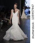 new york   april 21  model... | Shutterstock . vector #135957947
