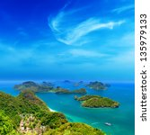 ko samui thailand travel... | Shutterstock . vector #135979133