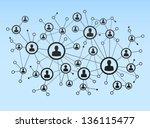 Illustration Of Network  Eps 8