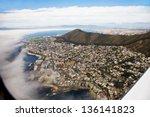 aerial photo taken through the... | Shutterstock . vector #136141823